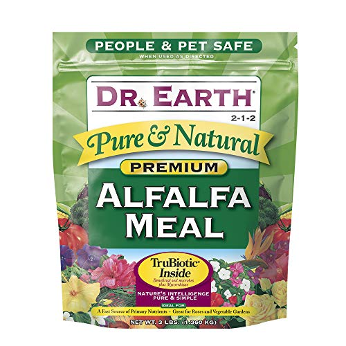 Dr. Earth Pure & Natural Alfalfa Meal 3 lb