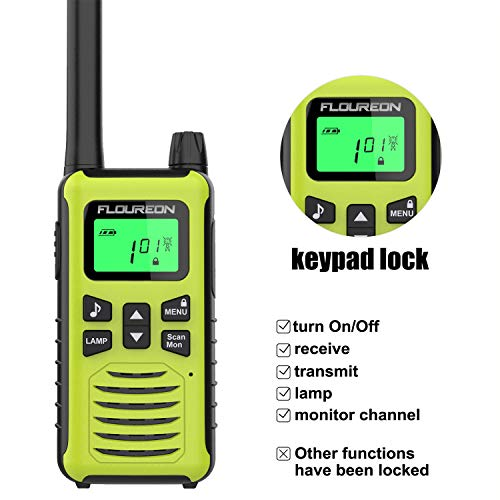 쇼핑365 해외구매대행 | FLOUREON 4 Packs Walkie Talkies Two Way