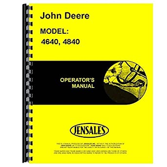 amazon com jd o omr65463 new operator s manual for john deere rh amazon com John Deere Model D110 Manual John Deere D110 Mower Deck Manual