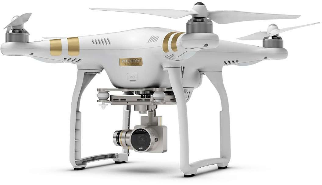 DJI Phantom 3 Professional Cinematography Quadcopter
