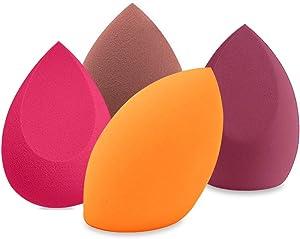 BAIMEI 4Pcs Makeup Sponges Set