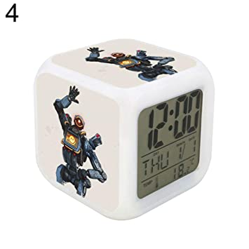 Amazon com: everd1487HH Colorful Cube Week Date Display
