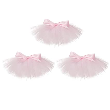 491aa27f0a BESTONZON 3pcs Wine Bottle Decoration Cover Tutu Skirt Wedding Birthday  Baby Shower Party Tulle Table Decorations