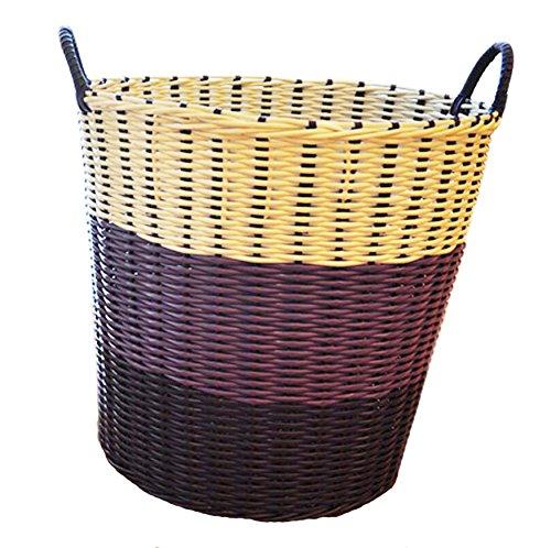 Wicker Basket Fruit Basket Bread Tray Storage Basket Laundry Basket -06 (Wicker Unit 6 Storage Drawer)