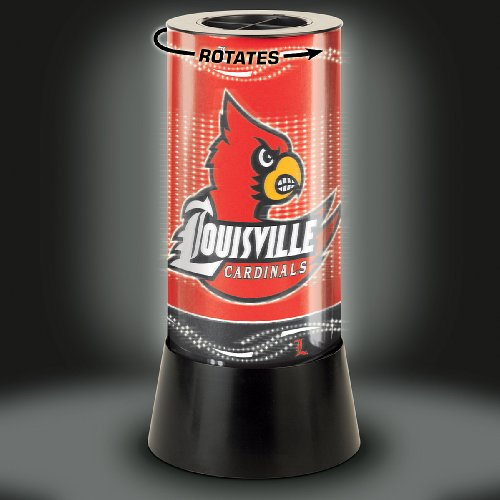(WinCraft NCAA University of Louisville Rotating Lamp, 12
