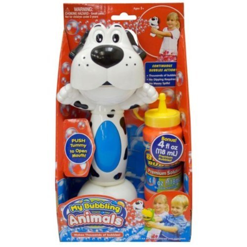 Placo Toys My Bubbling Animals with FREE 4 fl. oz. Premium Bubble Solution (Styles May Vary) by Placo Toys [並行輸入品] B0172KHAXA