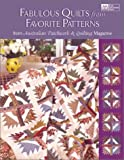 Fabulous Quilts from Favorite Patterns, Australian Patchwork & Quilting Magazine, 1564774686