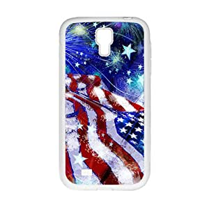 Personalized United States Independence Day Custom White Phone Case For Samsung Galaxy S4