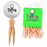 TitTees Naked Lady Golf Tees 3″ Plastic Golf Tee and Divot Tool Combo Perfect Novelty Golf Gift and Golf Gag Gift 12 Pack
