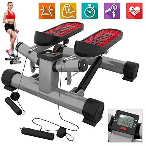 Purchase Fitness Exercise Elliptical Twister Stepper  Upgraded Quality Steel, Easy Standing Workout,...
