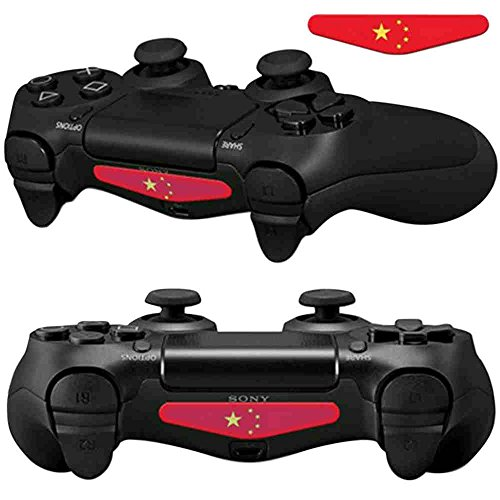 Mod Freakz Pair of LED Light Bar Skins China Country Flag for PS4 (Pair China)