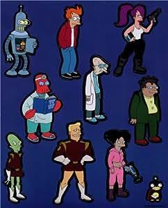 Futurama Characters Magnet Set FDM17