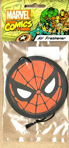 SPIDER-MAN - AIR Freshener - Face - Scent will vary- Licensed New In Pack