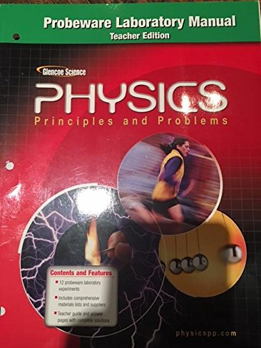 Physics: Principles and Problems (Probeware Laboratory Manual)
