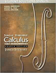 stewart calculus early transcendentals solutions manual pdf