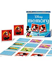 Ravensburger 24560 Disney-Mini Memory Game for Kids Age 3 Years and up