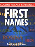 First Names, HarperCollins Publishers Ltd. Staff, 0004709411