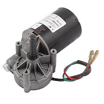 DealMux DC 12V 42 rpm del eje del esfuerzo de torsión Gusano izquierda el motor del engranaje reductor de velocidad: Amazon.es: Industria, ...