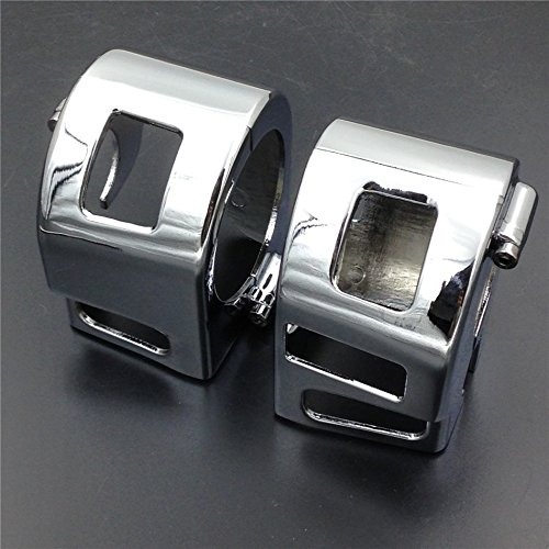 Motorcycle Chrome Switch Housing Cover For Yamaha V-Star Xvs 650 Classic Silverado Models - Motor Housing Cover