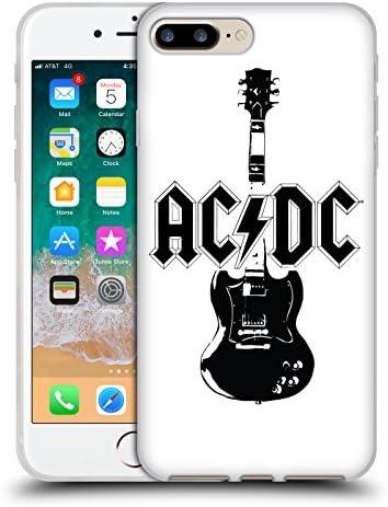 オフィシャル AC/DC ACDC リードギター アイコニック iPhone 7 Plus/iPhone 8 Plus 専用ソフトジェルケース