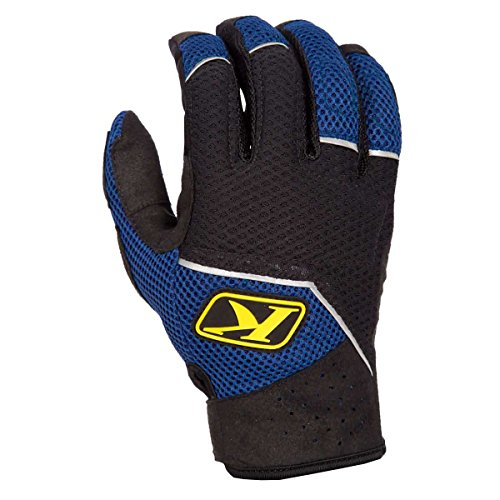 Klim Mojave Men's MotoX Motorcycle Gloves - Blue/Medium