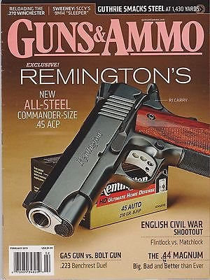 guns-ammo-magazine-february-2013-remingtons-all-steel-commander-45-acp