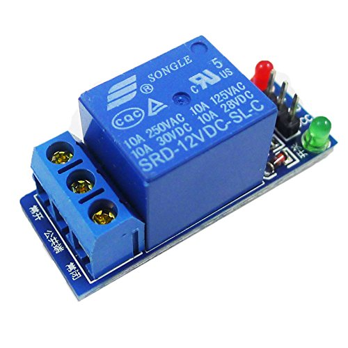 GEREE 12V 1-Channel Relay Module High Level Triger for Arduino PIC AVR (Pic Wireless Controller)