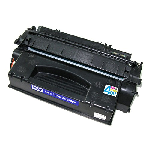 Ink & Toner 4 You ® Compatible High Capacity Black Laser Toner Cartridge for HP Q5949X (49X) Works With HP LaserJet 3390 LaserJet 3392 Laserjet 1320 Laserjet 1320n Laserjet 1320nvv laserjet 1320t laserjet 1320tn - 6,500 Page Yield