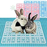 Rabbit Mats for Cages Rabbit Guinea Pig Hamster and Other Small Animal Cage Hole Mat Prevent Pet Skin Disease