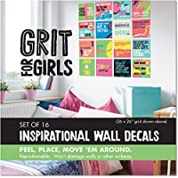 Papersalt Wall Decal Set: Grit for Girls