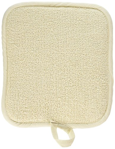 Winco PH-9W Beige Terry Pot Holder with Pocket, 12-Piece Count, 9.5-Inch by 8.5-Inch