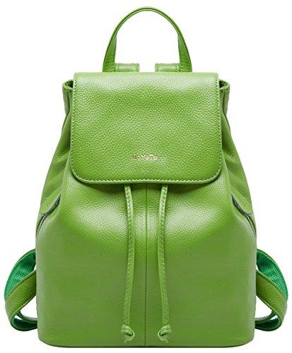 BOYATU Genuine Leather Mini Backpacks for Women Elegant Ladies Purse Fashion ()