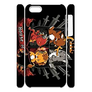 JCCFAN Game of Thrones 3 Phone 3D Case For Iphone 5C [Pattern-1]