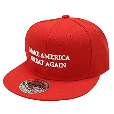 Cf918 Trump Make America Great Again Snapback Cap Red
