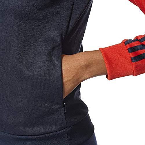 Firebird Track Women (adidas Women Half-Zip Track Jacket ,Legend Ink,Medium)
