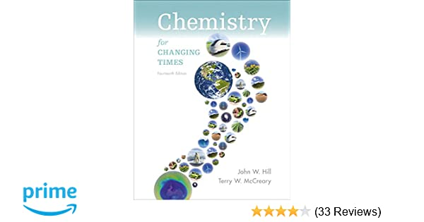 Chemistry For Changing Times Plus Mastering