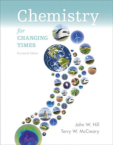 Chemistry For Changing Times (14th Edition)