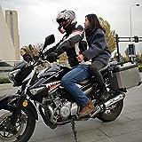 Unisex Motorcycle Passenger Safety Belt Rear Seat