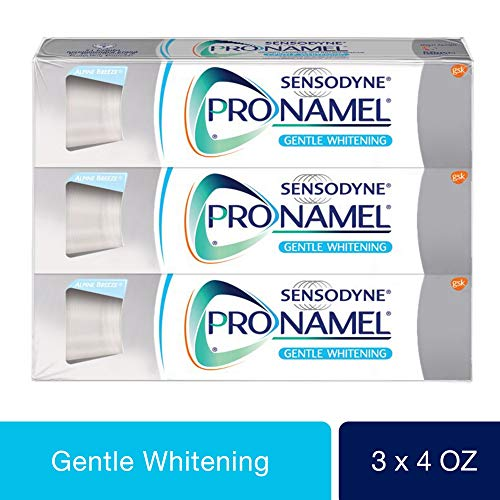 Sensodyne Pronamel Gentle Whitening, Sensitive Toothpaste, 4 oz (Pack of 3) from SENSODYNE PRONAMEL