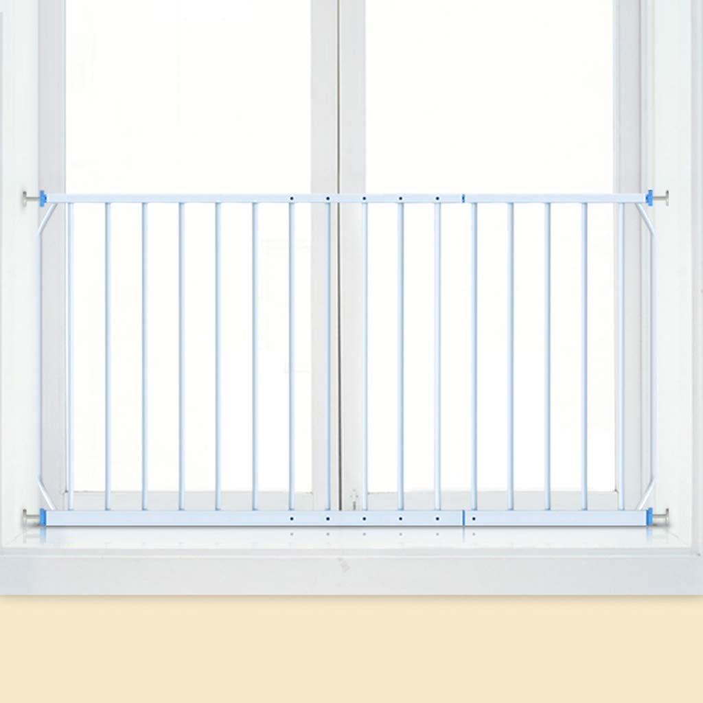 Metal Size : Length 160-230cm BJLWTQ Pressure Mounted Window Guard Children Child Safety Window Guards Indoor White Fit 85-335cm