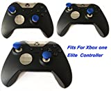 E-MODS-GAMING-Blue-Xbox-One-Elite-Controller-Replacement-Swap-thumbsticks-8-pcs-w-2-standard-magnets-thumb-sticks-Fits-for-PS4-DualShock-4-Xbox-one-Controller
