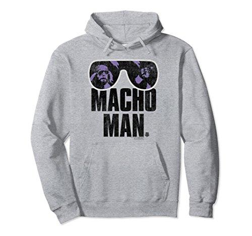 Unisex WWE Macho Man Classic Distressed Sunglasses Large Heather - Sunglasses Wwe