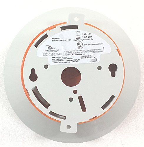 EDWARDS SIGA-SB4 STANDARD SMOKE DETECTOR BASE