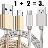 [3 Pack] Kindle USB Cable A Male to Micro B 5FT