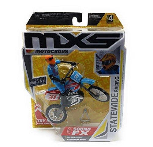 MXS Boys Statewide Racing Street Bike & Rider SFX Set by MXS