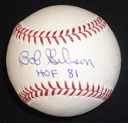 Bob Gibson Autographed Baseball - Official Major League Ball inscribed