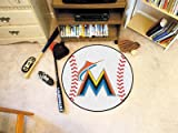 MLB - Miami Marlins Baseball Rug