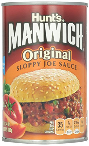Hunt's Manwich Sloppy Joe Sauce, Original, 24 oz