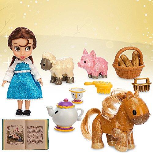 [Disney Animators' Collection Belle Mini Doll Play Set - 5 Inch] (Fairy Costumes Uk)
