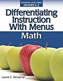 Differentiating Instruction with Menus: Math (Grades K-2)